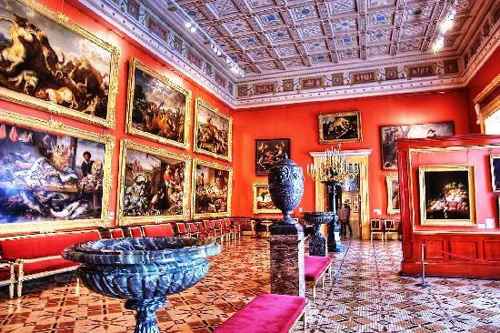 St. Petersburg, Rusia: Flemish Gallery at hermitage