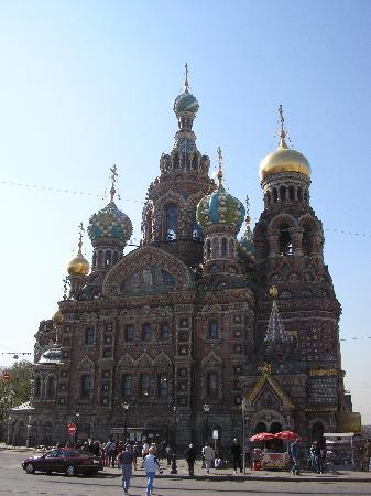 St. Petersburg, Russland: Churh on Spilt Blood