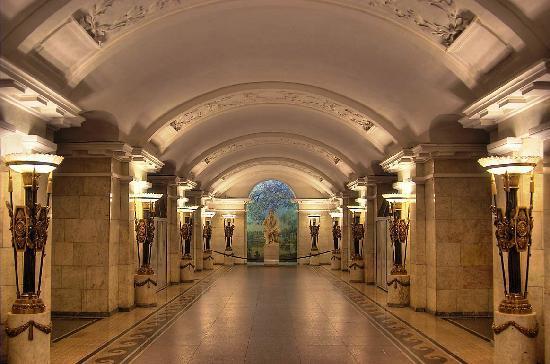 St. Petersburg, Russland: Petersburg Metro