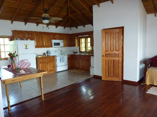 Vivaro Roatan: I could only capture 1/2 of the upstairs loft