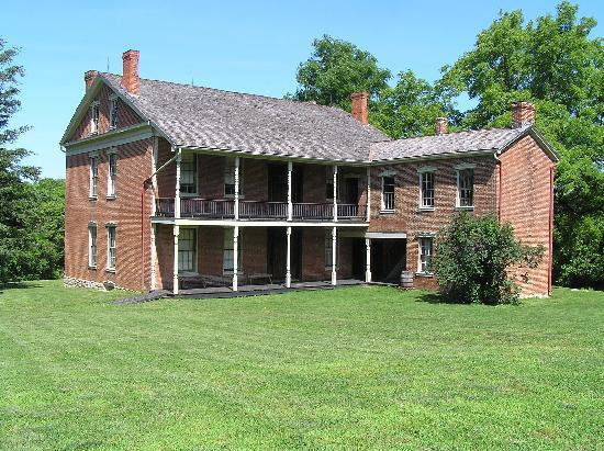 Battle of Lexington State Historic Site: Anderson House - back