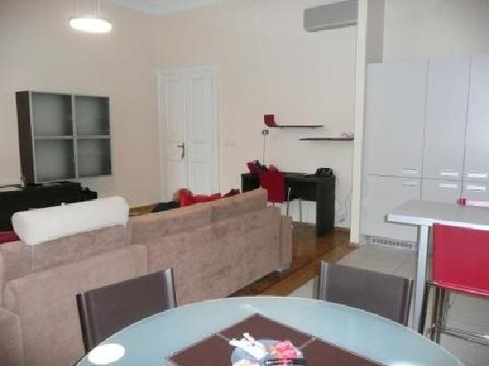 Residence Karolina - Prague City Apartments: No. 32 Kitchen/diner/lounge area