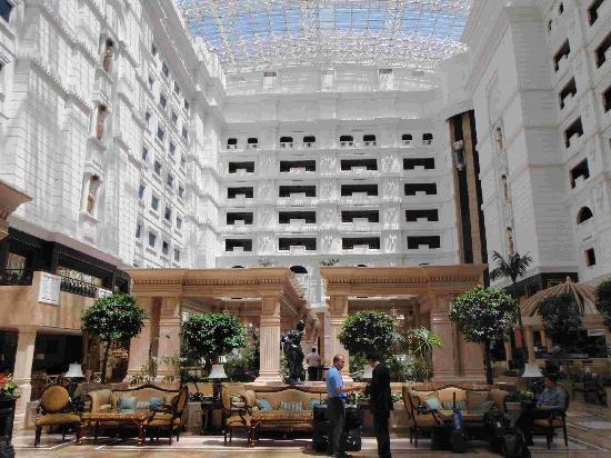 Rixos Almaty: The Rixos hotel atrium