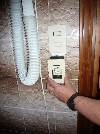 Hotel Alpi: Elektrische Sicherheit im Bad