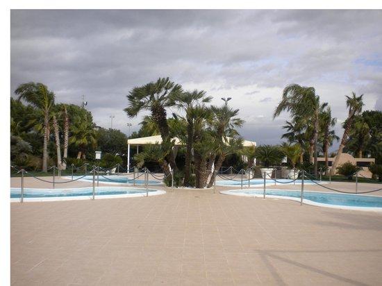 Hotel Ariston: Le 4 piscine piccole a quadrifoglio