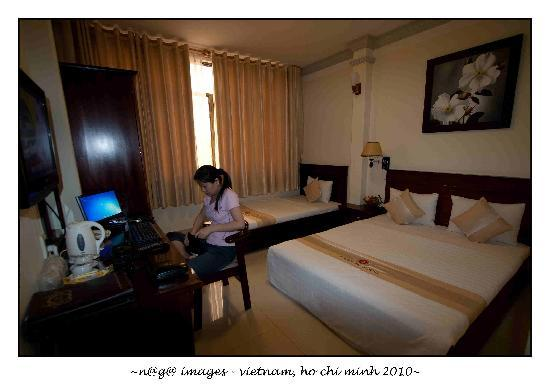 Beautiful Saigon Hotel : Layout of room