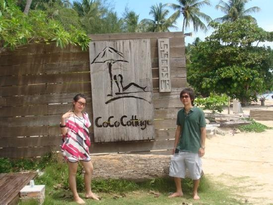 CoCo Cottage Koh Ngai: The sign