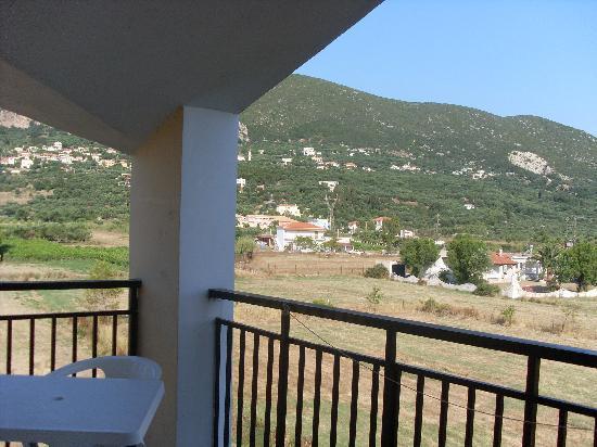 Pothos Apartments: balcony view