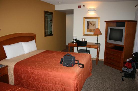 Banff Inn: Eckzimmer im 2.Stock