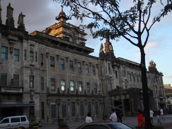 Universidad de Santo Tomás: facade of main building