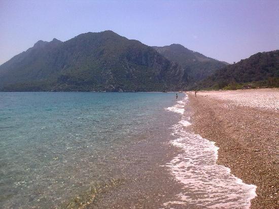 Odile Hotel: foto dalla spiaggiadell'hotel