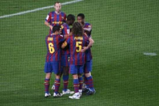 the fc barcelona team