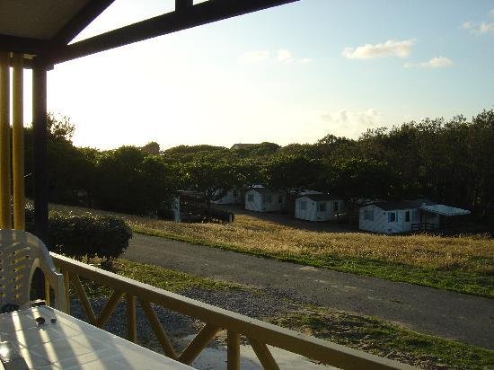 Camping Le Saint Martin : vu du HEGOA