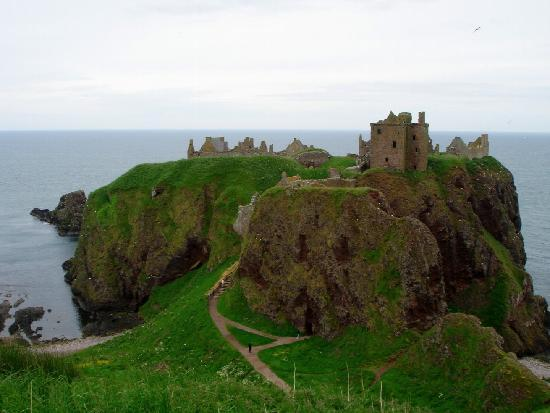 Стонхейвен, UK: Dunnottar Castle 2008a