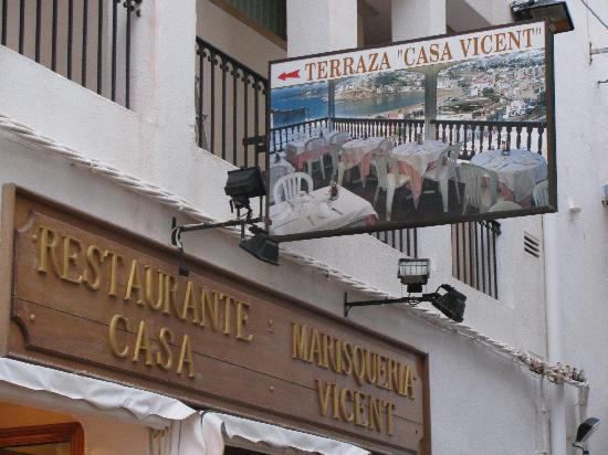 Restaurante Casa Vicent: Main Entrance