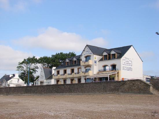 Hôtel de la Plage : depuis la plage