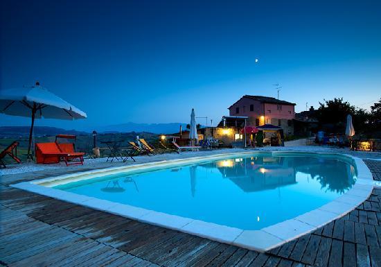 Tolentino, Italia: piscina