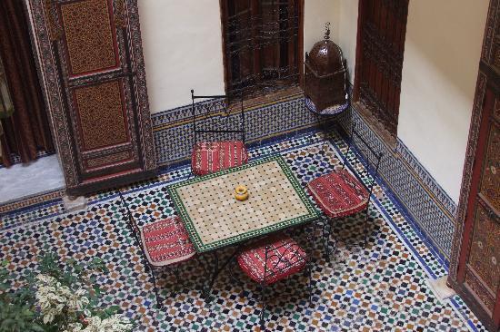 Dar Iman: courtyard view