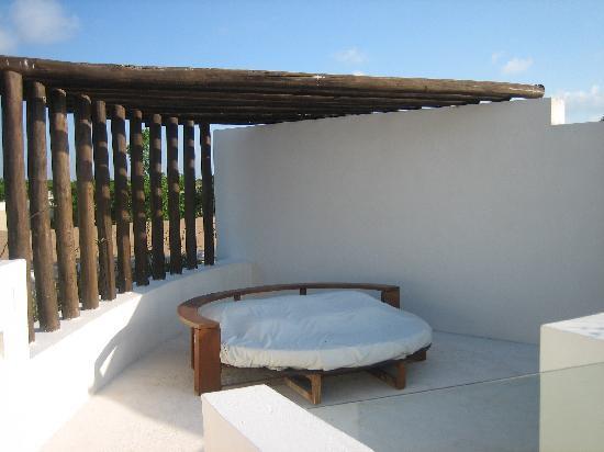 Rosewood Mayakoba: Private rooftop deck