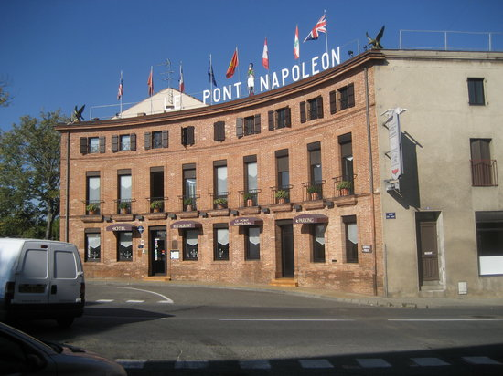 Moissac, França: L'hotel du Pont Napoléon