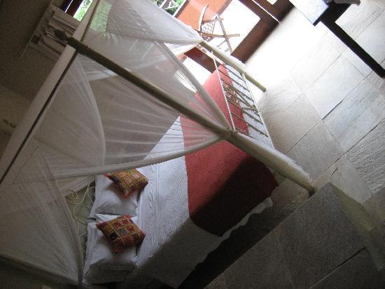 La Pedrera Small Hotel & Spa : Aussicht vom Haupthaus beim Pool