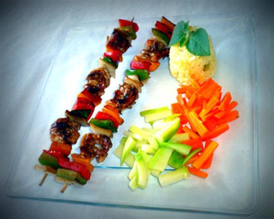 Mariscos Chendo's: shrimp brochettes