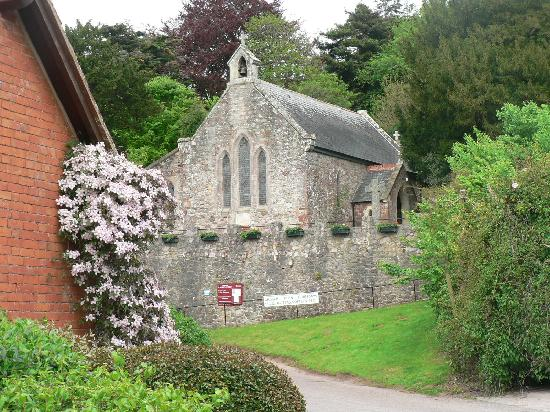 Cofton Holidays: Cofton Church - on site