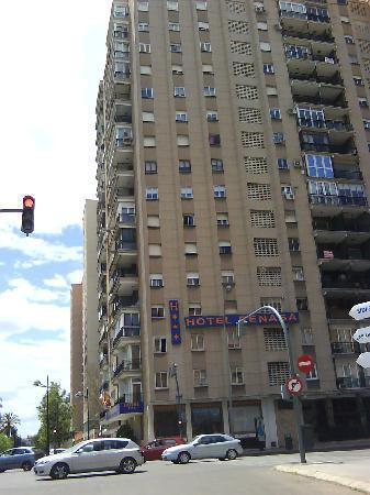 Sweet Hotel Renasa: el hotel ocupa parte de este edificio