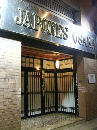 Restaurante Japones Osaka: exterior 2