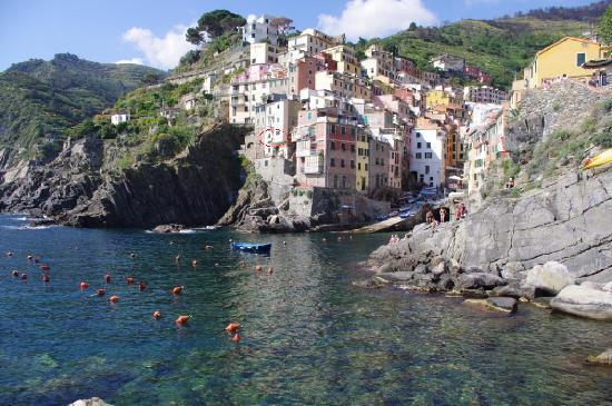 La Scogliera: Riomaggiore & la-scogliera marked
