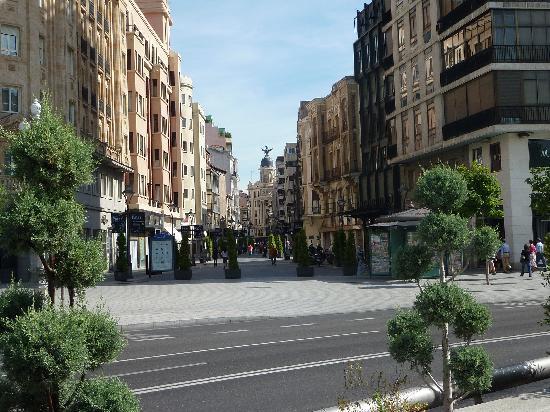 Valladolid, Spanien: zona comercial peatonal