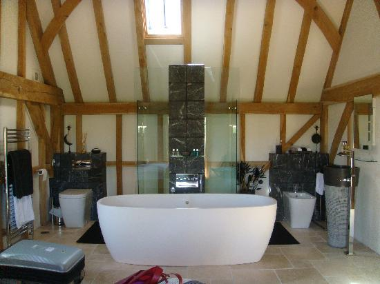 Yew Tree Barn B&B: Our bathroom