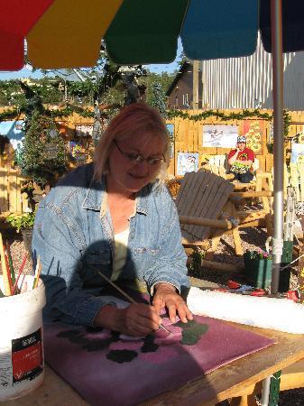 Sonja's: Sonja Painting
