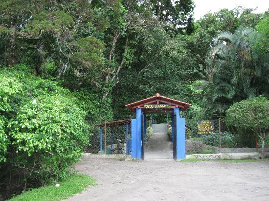 Anton Valley Hotel: Hot springs entrance