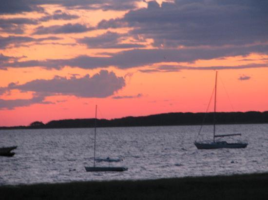 The Wauwinet: Sunset in Nantucket bayside of Wauwinet!