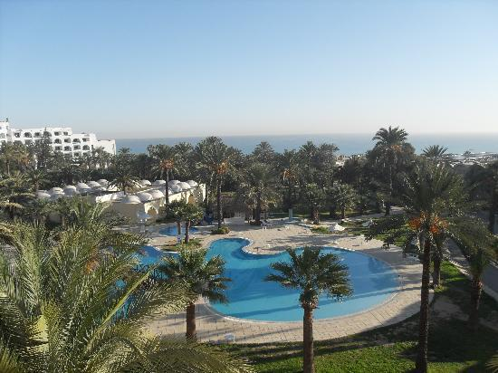 Hotel Marhaba: view from our room