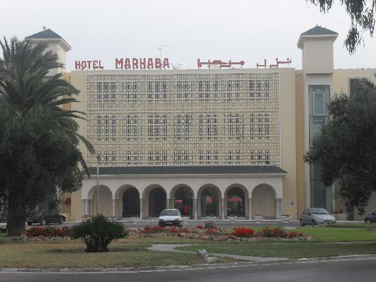 Hotel Marhaba: outside the hotel