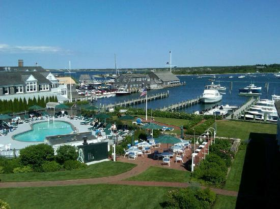 Harborside Inn: View from 460 Balcony