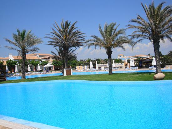 Aldemar Olympian Village: One  of  many  huge pools