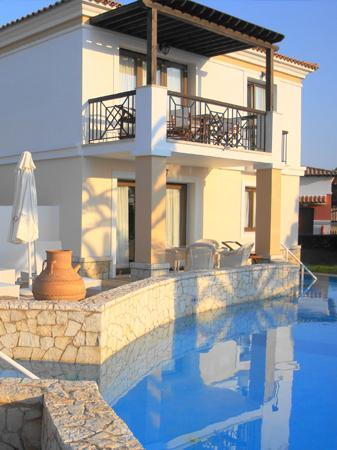 Skafidia, Yunani: Sea-view  villa with  private  pool