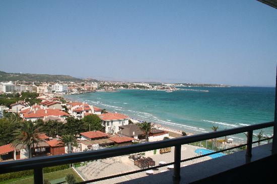 Sheraton Cesme Hotel Resort & Spa: Blick vom Zimmer zur Meerseite