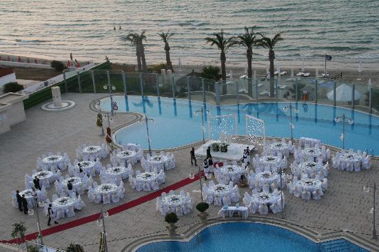 Sheraton Cesme Hotel Resort & Spa: Restaurant nur zu Feierlichkeiten von VIPs