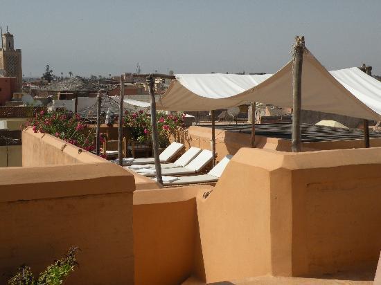 Dar Hanane: The roof terrace