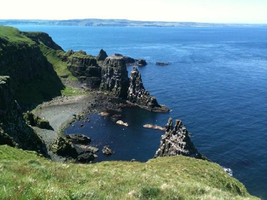 Rathlin Island, UK : The seabird sanctuary at the far end of the island