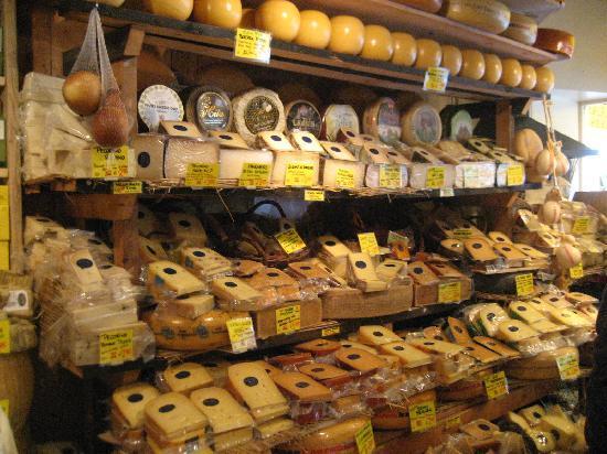 Amsterdam, Holland: cheese heaven