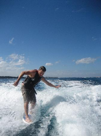 Wake Maui: Wakesurfing was a blast too.