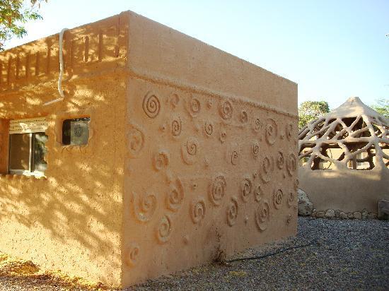 Kibbutz Lotan Desert Inn : Unique architecture