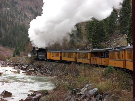 Rio Grande Southern Hotel B&B: Durango & Silverton Narrow Gauge Railroad