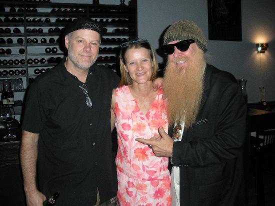 Delmonico Grill: Billy Gibbons visit