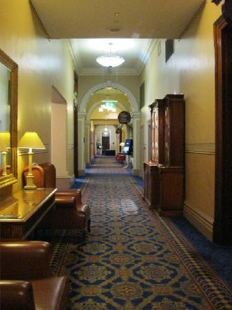 Treasury Hotel & Casino: the hallway